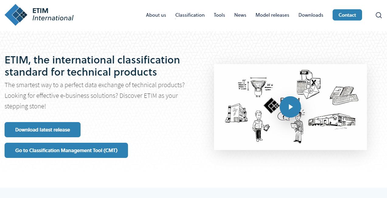 ETIM-hjemmeside